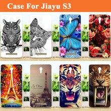 2d3c39d5951 Para JIAYU S3 caso cubierta/Pintura de colores Tpu suave cubierta de la  caja para