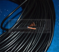 10m Lot Black Plastic PVC 2 0 75mm Table Lamp Wire Cable Electric Cord Vintage Edison