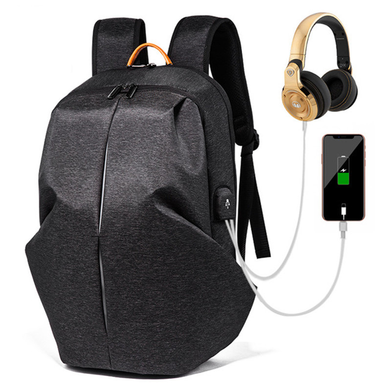 Laptop Backpack Men Women Notebook Backpacks Bag External Usb Port Computer Gym Bags