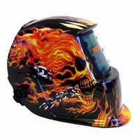 Solar Auto oscurecimiento soldadura casco Máscara de Soldadura pulido CE Ansi certificado cráneo seguro herramientas casco de protección