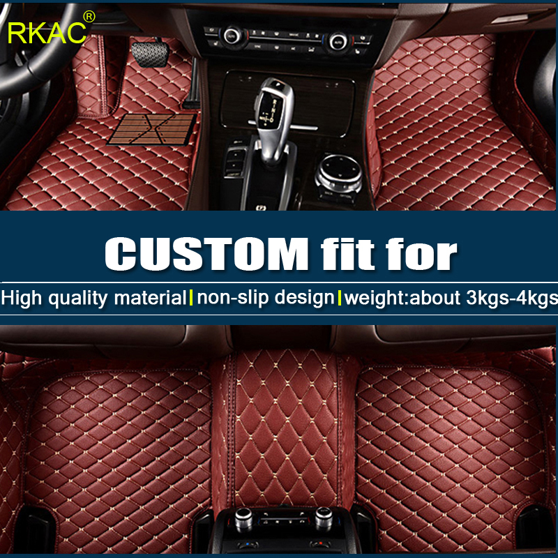 Good quality Custom car floor mat for BMW F10 F11 F15 F16 F20 F25 F30 F34 E60 E70 E90 1 3 4 5 7 GT X1 X3 X4 X5 X6 Z4 car-styling
