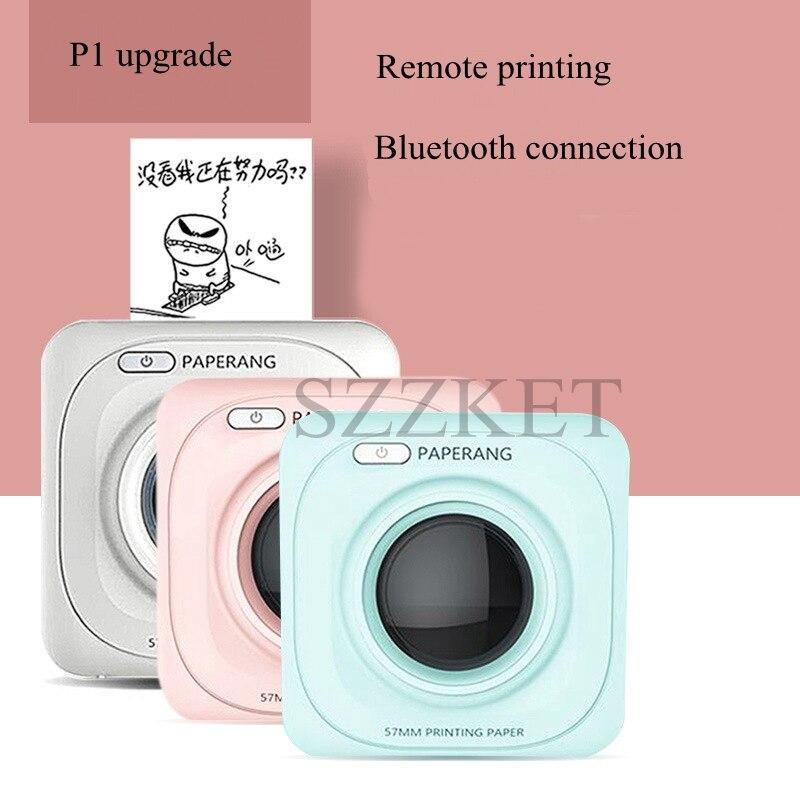 1 PC pour imprimante thermique Portable PAPERANG P1S une variété de spécifications autocollants imprimante photo de poche imprimante P1 mise à niveau