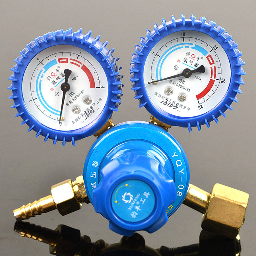 Shockproof Oxygen/Acetylene/Propane/Hydrogen/Nitrogen/Argon Gauge Gas Meter Welding Regulator Gauge Mini Pressure Relief Gauge цена