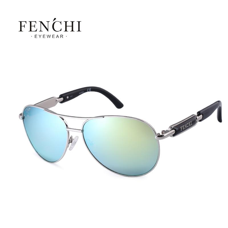 FENCHI Polarized Sunglasses Women Vintage Brand Glasses Driving Pilot Pink Mirror sunglasses Men ladies oculos de sol feminino 17