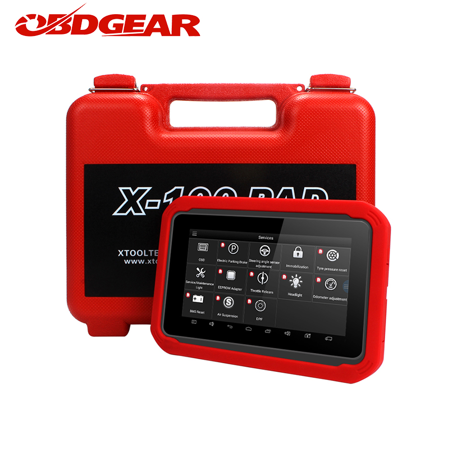 Newest XTOOL X100 PAD X 100 Auto Car Key Programmer With Oil Rest Tool And Odometer