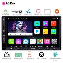 ATOTO A6 2 Din Android GPS для автомобиля, стерео плеер/2x Bluetooth и aptX ips дисплей/A6Y2721PRB/Indash Мультимедиа Радио/wi fi USB