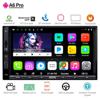 ATOTO A6 2 Din Android автомобильный gps стерео плеер/2x Bluetooth и aptX ips дисплей/A6Y2721PRB/Indash Мультимедиа Радио/wi fi USB