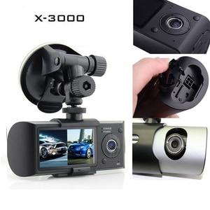 Image 5 - Podofoデュアルレンズ車dvr x3000 r300ダッシュカメラでgps gセンサービデオカメラ140度広角2.7インチカムビデオレコーダー