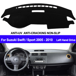 TAIJS крышка приборной панели автомобиля тире коврик доска-планшет ковер dashmatt анти-УФ для Suzuki Swift Sport 2005 2006 2007 2008 2009 2010