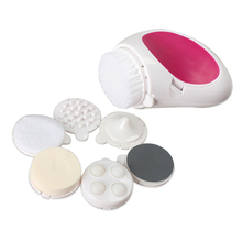 1 Set 7 in 1 Electric Facial Rejuvenation Cleanser & Massage Beauty Skin Care Waterproof Face Massage
