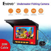 Eyoyo F05 4 3 LCD HD 1000TVL Red Infrared LED Underwater 20m Camera Video Fish Finder