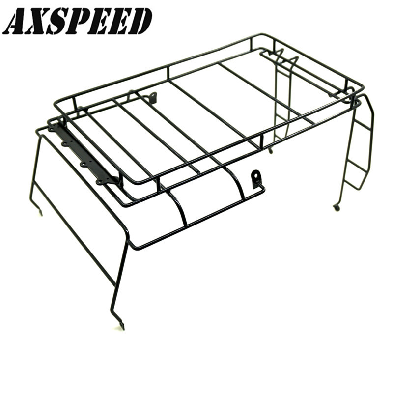 10 Rc Defender Roof Rack Rock Crawler Luggage Tray Set For D90