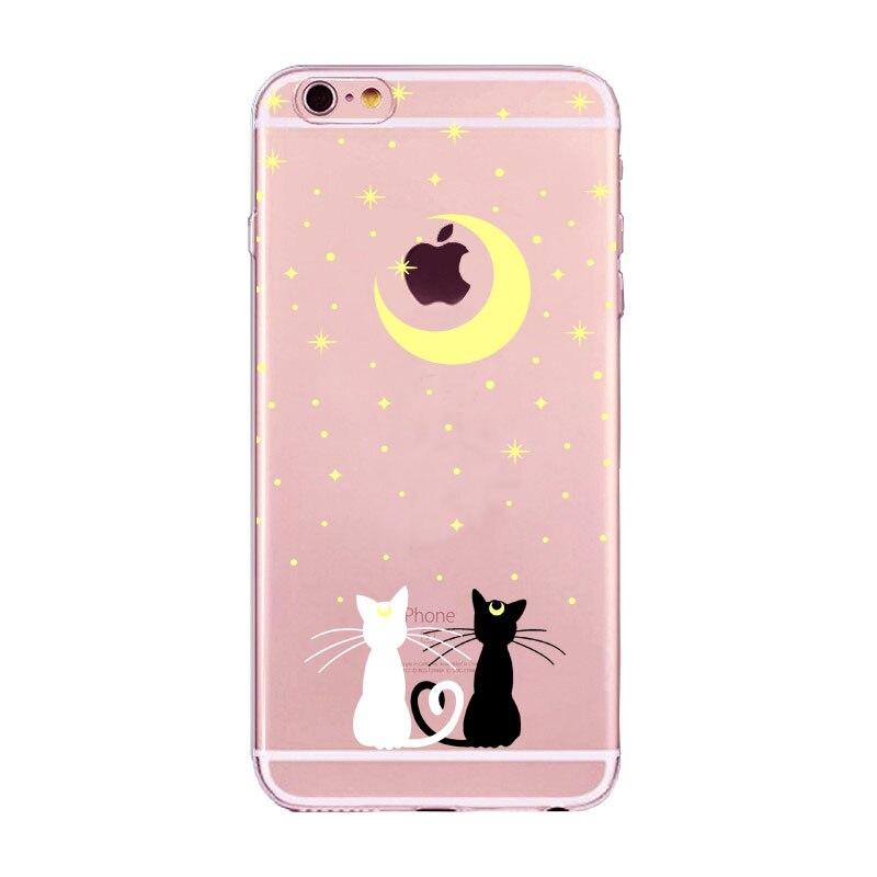 Cute Cat Phone Case Cover Iphone 6 6s