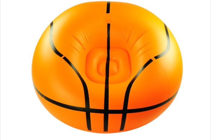 105cm x 75cm x 42cm Big size Adult football inflatable sofa single sofa beanbag  chair inflatable stool basketball shape