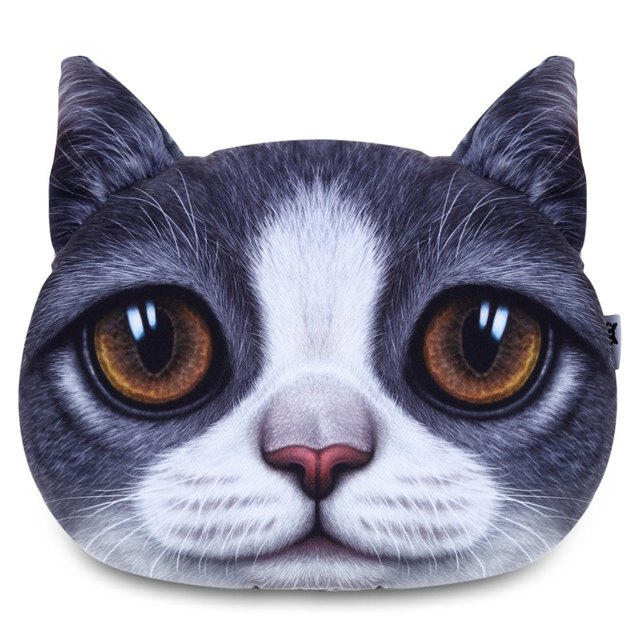 Cute Animal Pillow for Car Auto Travel with Soft Touch Feeling Cartoon Great For Head And Neck Support Car Soft Headrest Pillow