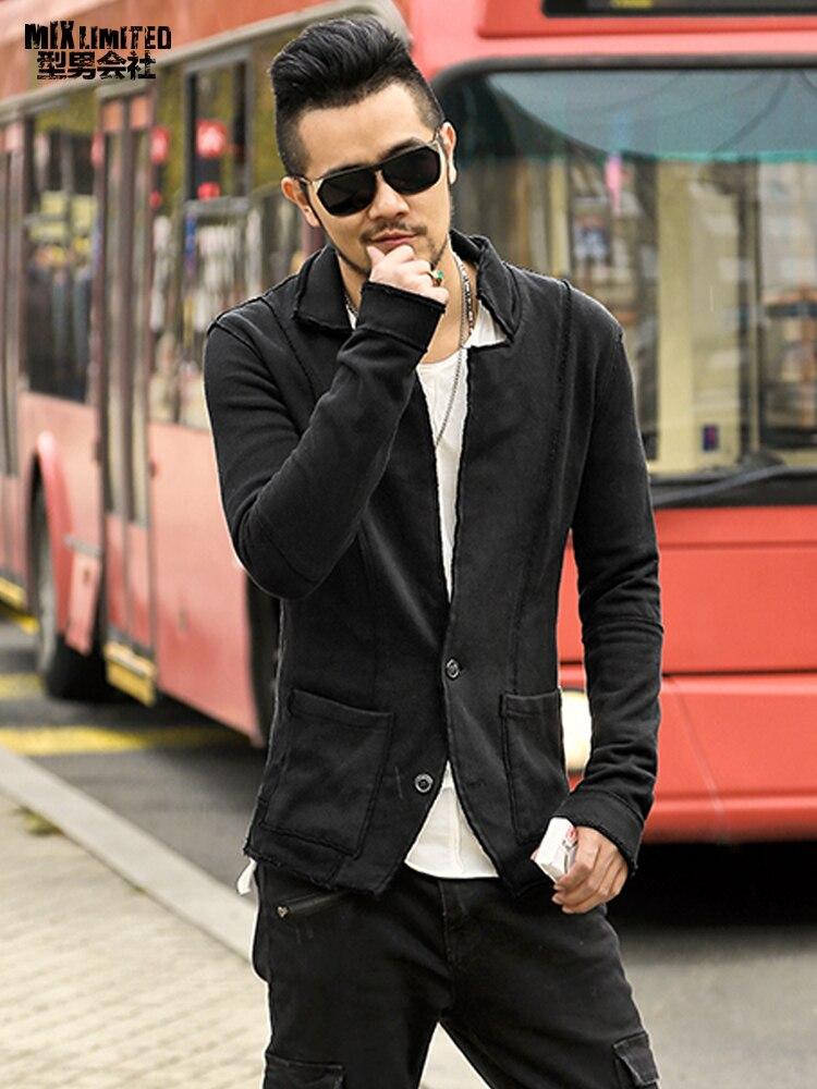High quality New Autumn winter men casual Blazer men's cotton suit Jacket slim fit Men's classic blazer coat fashion F2102