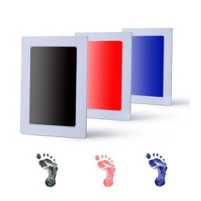 Newborn Baby Handprint Footprint Pad Safe Clean Non-Toxic Touch Ink Photo Easy To Operate Hand Foot Print