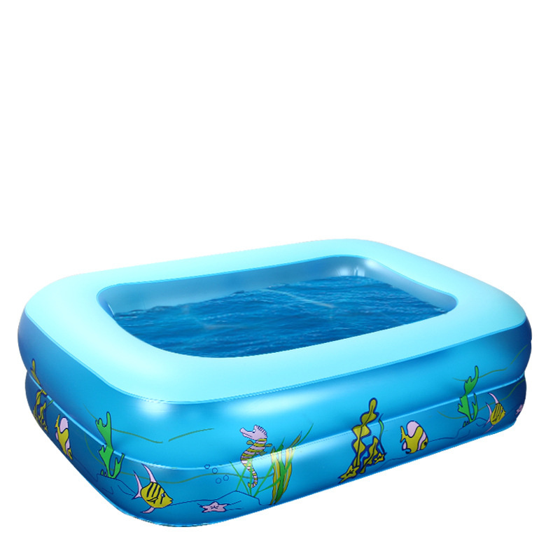 ФОТО New Inflatable Baby ocean Swimming Pool Toddler 0-3Years old Kids/ Children Bathtube Pump Adjust Height Swimming Pool 2017 Hot