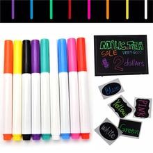 1 шт. 9 Цвета чернил Маркеры для доски ручка маркер Для детей канцелярские подарок стираемый маркером