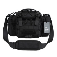 OneTigris Tactical 3 Ways Modular Deployment Compact Utility Carry Bag Waist Bag MOLLE Case Heavy Duty