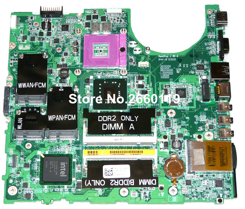 ФОТО 100% Working Laptop Motherboard For Dell 1537 GM45 P172H DAFM7BMB6D0 System Board fully tested and cheap shipping
