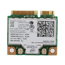 Для dual band wireless-ac bt4.0 7260hmw mini pci-e карты для intel для hp sps 710661-001-r179 груза падения