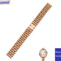 Substitute fo SWRSIKi quartz steel belt ladies bracelet 5200341 solid stainless steel 12mm 14mm 16mm 18mm watch strap women