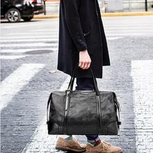 Men 3 colors Travel Bag font b Oxford b font Textile Large Capacity Portable Handbag Business