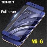 Xiaomi Mi6 Glass Tempered MOFi Xiaomi Mi 6 Screen Protector Hard Transparent Film Anti Impact Full