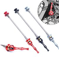 1 Pair Titanium Ti Skewer Mountain Bikes Quick Release Skewer lever MTB Bicycle Cycling Hub 100m 135mm Quick Release MTB parts