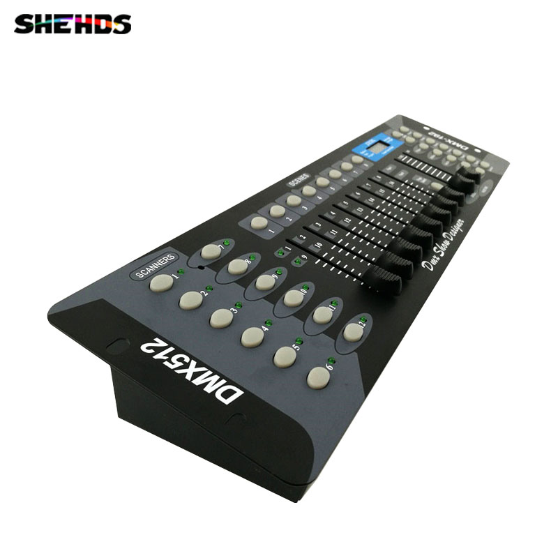 192 Channels DMX512 DMX Controller Console DJ Disco Equipment DMX Lighting Consoles Professional Stage Lights lightme professional stage dj dmx stage light 192 channels dmx512 controller console dj light for disco ktv home party night