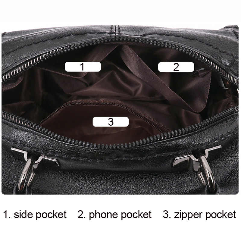 REPRCLA, elegante bolso de mano a la moda para mujer, bandolera de gran calidad, bolsos de diseñador de piel sintética, bolsos de mano para mujer