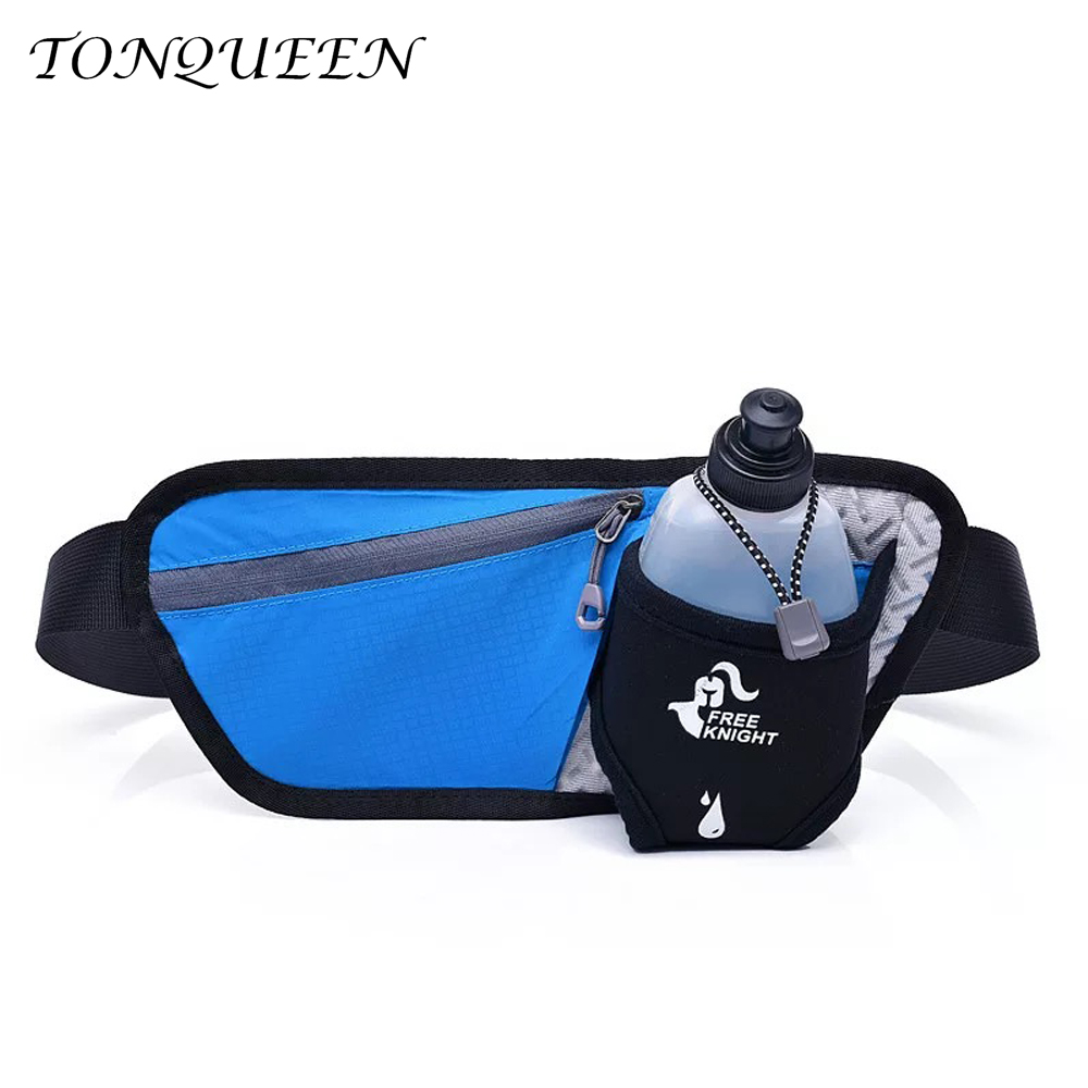Unisex Running Waist Bag Sport Waist Pack, Waterproof Mobile Phone Holder, Gym Fitness B ...