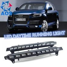 2 Teile/satz Auto LED DRL set Tageslicht Auto Tagfahrlicht Für Audi Q7 2005 2006 2007 2008 2009 2010