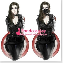Mujeres libres Del Envío Captain America The Winter Soldier James Outfit (hembra) Cosplay Traje hecho A Medida