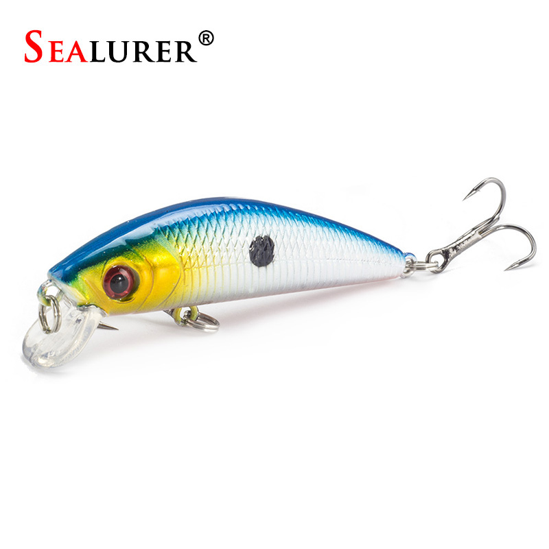 Brand Floating Minnow Fishing Lure 7CM 8.5G 6# Hooks Fly Fishing Wobbler Hard Bait Carp Crankbait Artificial Japan Swimbait 1pcs sealurer fishing lure minnow hard bait pesca floating wobbler 8cm 7 5g isca carp crankbait jerkbait 5colors 1pcs lot
