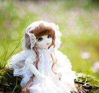 Bjd bjd 1/8 escala sobre 15 cm pop/sd littlefee ante bonito resina figura da boneca modelo diy toys presente. não inclui roupas, sapatos, peruca