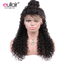 eullair Peruvian Lace Front Human Hair Wigs Water Wave 4*13 Swiss Lace Frontal Wigs For Black Women 8 24 Pre Plucked Remy Hair