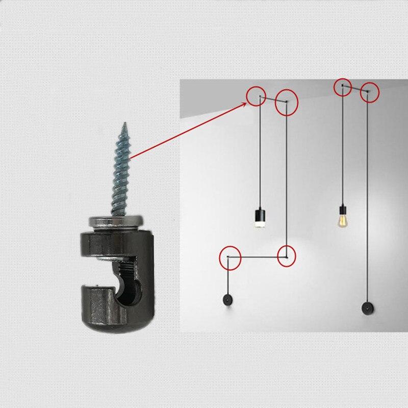 Kabel Clip Draht Haken Metall Eisen Material Fur Lange Draht