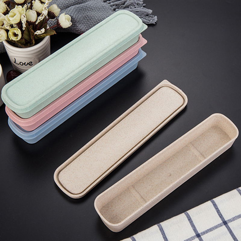 4 Colour Universal Portable PP Split type Cutlery Receptacle Tableware Storage Box in Flatware Sets from Home Garden