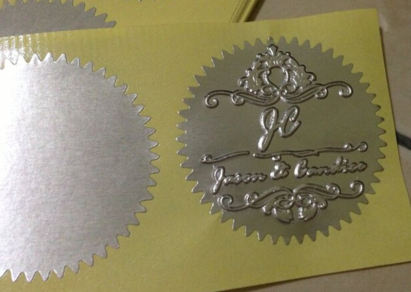 Image 3 - Big metal custom embosser seal stamp certificate and office document sealing-in Stamps from Home & Garden