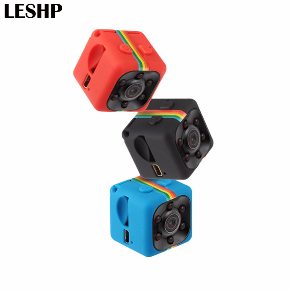 SQ11 Mini Camera 1080P HD 360 degree Camcorder Lithium Battery Voice Video Recorder Sports DV Camera Support TF Card TV OUT 3 7v lithium polymer battery 061745 601745 camera pen recorder bluetooth wireless mouse battery