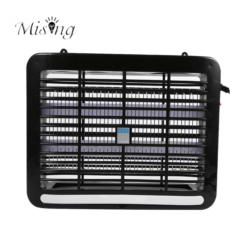 Mising 8W LED White Mosquito Repellent Trap Lamp Electric Shock Insect Zapper Pest Outdoor Camping Protect Mosquito Killer Lamps