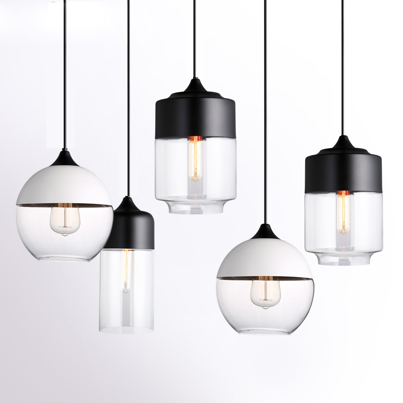 Modern Pendant Lights Globe Glass Pendant Lamp Kitchen