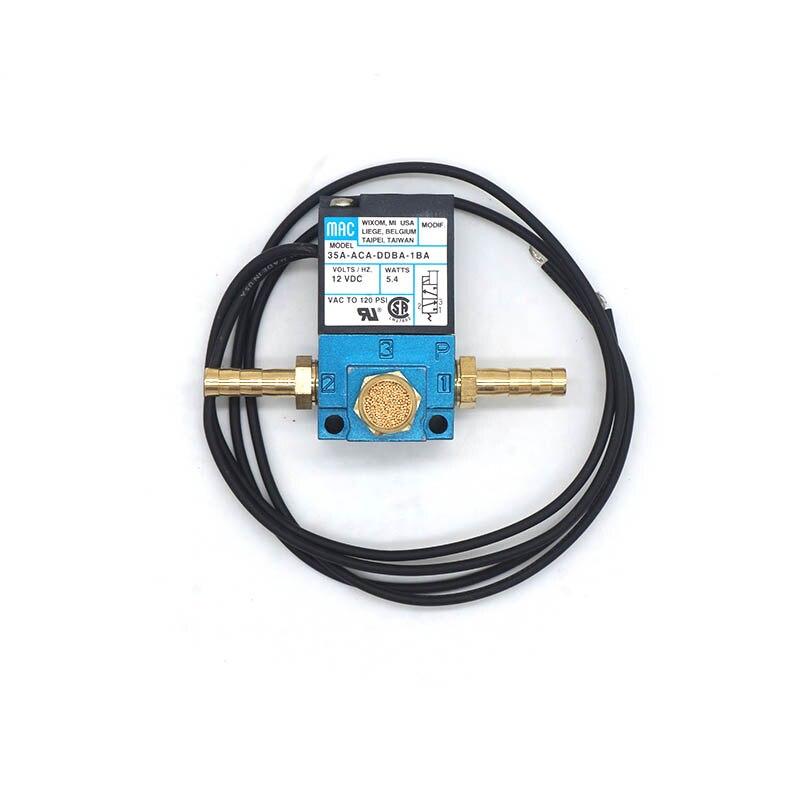 MAC 3 Port Electronic Boost Control Solenoid Valve 12v 35A-ACA-DDBA-1BA With Brass Silencer