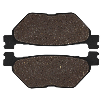 Cyleto Motorcycle Rear Brake Pads for YAMAHA TDM900 Non ABS 2002-2013 TDM 900 ABS 2005-2013 XVS 950 XVS950 V-Star 950 2009-2014 image
