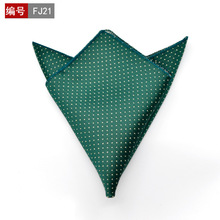 25 x 25cm Fashion Men Pocket Square Party Handkerchief Black with  quelle arizona 536271