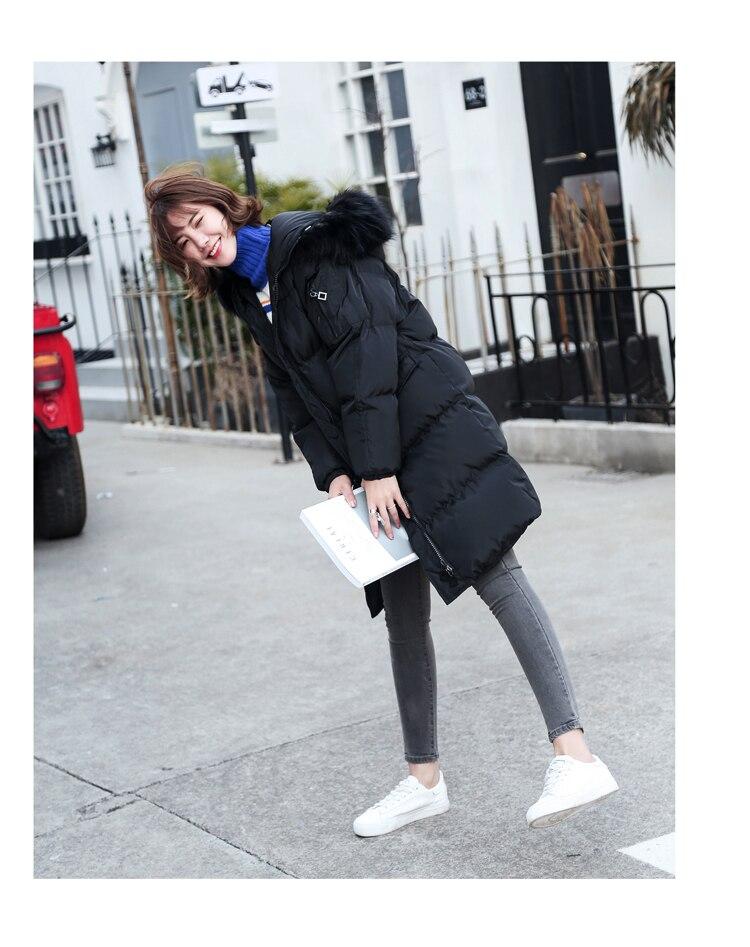 Nouvelle 2018 Taille Épais Artificielle Grande La Fourrure Noir Chaud Hiver Style Veste De ivoire Casual Femmes Col XFOInxq6Sw