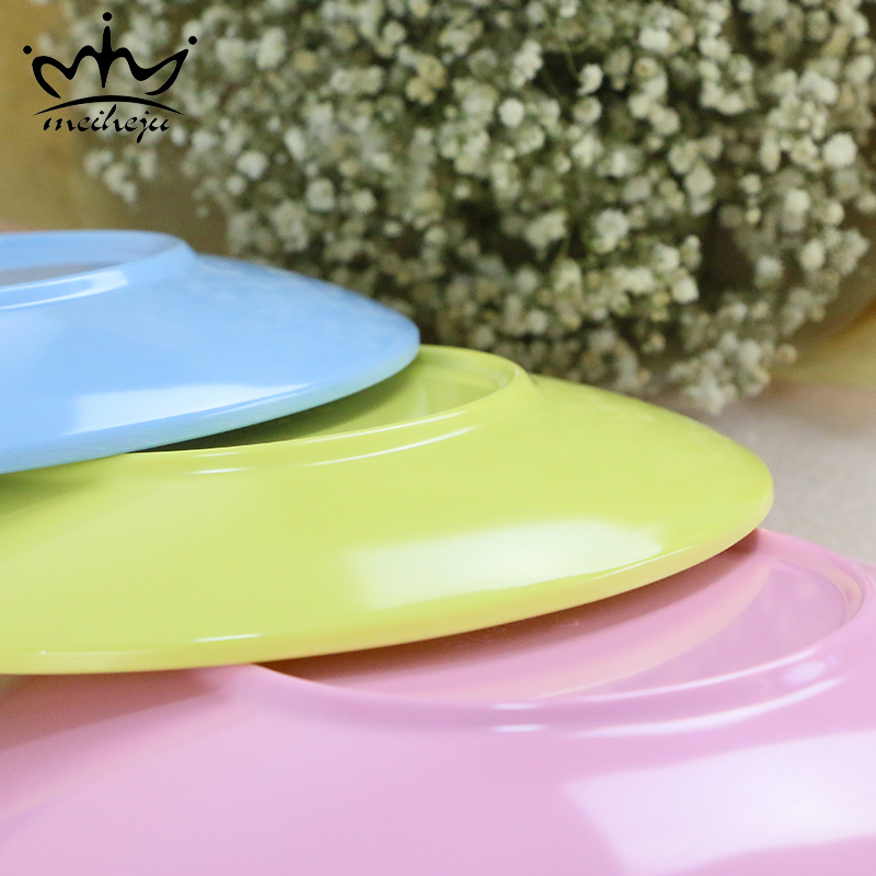 Plastic Melamine Solid Color Small Dishes Dishes \u0026 Plates Modern Kitchen Western Tableware Dinner Plate Fruit Snack Food Plates-in Dishes \u0026 Plates from Home ... & Plastic Melamine Solid Color Small Dishes Dishes \u0026 Plates Modern ...