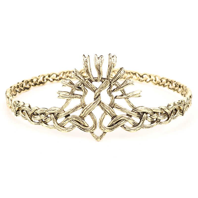 เกมของ Throne Season 7 Lannister Crown Hollow อุปกรณ์เสริมงานแต่งงานคอสเพลย์ Headwear